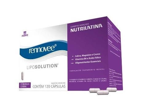 497662 497662 O LipoSolution é um nutricosmético que auxilia na manutenção da boa forma corporal Liposolution Rennovee, como funciona