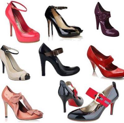 497965 Os sapatos Mary Jane conferem um toque retro ao look. Sapatos que não saem de moda