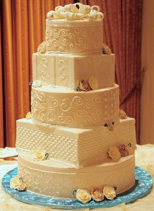 497966 Bolos decorados para casamento 03 Bolos decorados para casamento: fotos