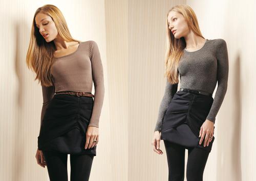 497988 A blusa segunda pele é uma maneira de se manter quetinha e elegante. Blusa segunda pele   como usar