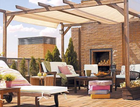 498141 Decoração de terraços fotos 3 Decoração de terraços, fotos