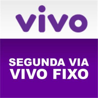 498160 2 via da conta Vivo1 2 via Conta Vivo Fixo