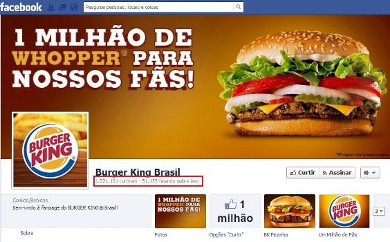 498671 Promoção Burger King Brasil 1 milhão de whopper para nossos fãs 2 Promoção Burger King Brasil: 1 milhão de whopper para nossos fãs