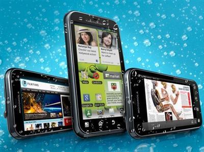 498835 Celular a prova d'água Motorola Celular a prova dágua Motorola