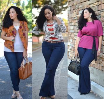 498860 As calças jeans plus size são ideais para mulheres que gostam de andar na moda independente do tipo físico Fotodivulgação. Jeans plus size   modelos, dicas