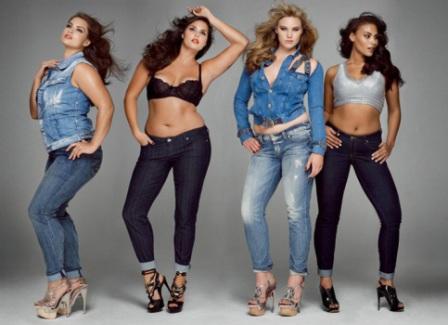 498860 As calças jeans são as últimas tendências da moda plus size para gordinhas Fotodivulgação. Jeans plus size   modelos, dicas