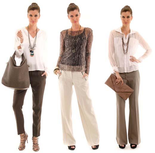 498872 As camisetes são as mais indicadas para serem usadas com calças de alfaiataria Fotodivulgação. Calças de alfaiataria   como usar
