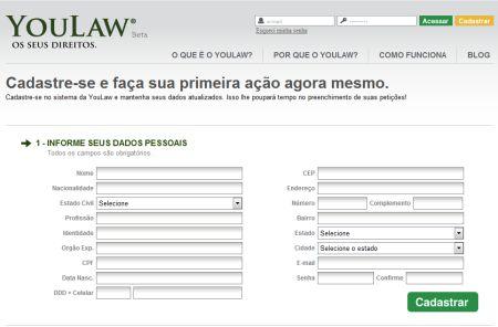 499030 site youlaw petiçoes judiciais pela internet 2 Site Youlaw: petições judiciais pela internet
