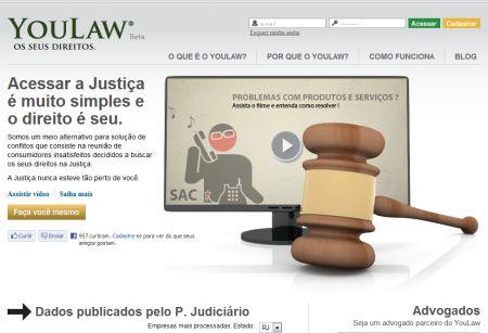 499030 site youlaw petiçoes judiciais pela internet Site Youlaw: petições judiciais pela internet