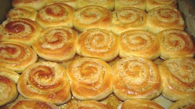 499337 pão doce coco Pão doce de coco
