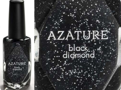 499430 Azature Diamonds Black o esmalte mais caro do mundo 2 Azature Diamonds Black: o esmalte mais caro do mundo