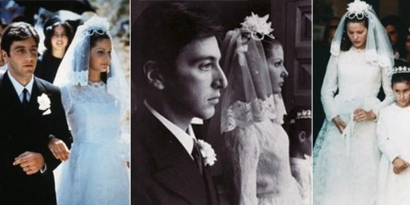 499709 Apollonia Vitelli de O Poderoso Chefão. Vestidos de noiva dos filmes: fotos