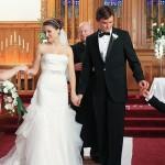 499709 Na 8ª temporada de One Tree Hill Brooke Davis apostou num modelo clássico para fazer as juras com Julian Baker. 150x150 Vestidos de noiva dos filmes: fotos