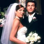 499709 No seriado Barrados no Baile a personagem Doona Martin selou seus votos com David Silver com bastante requinte. 150x150 Vestidos de noiva dos filmes: fotos