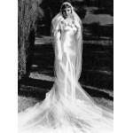 499709 Sensual e elegantíssimo assim era o vestido usado no longa Aconteceu Naquela Noite. 150x150 Vestidos de noiva dos filmes: fotos