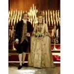 499709 em A Duquesa Keira Knightley usou um luxuoso vestido de noiva. 150x150 Vestidos de noiva dos filmes: fotos
