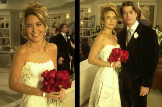 499960 Vestidos de noiva das novelas fotos laura celebridade Vestidos de noiva das novelas: fotos