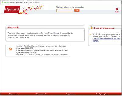 500158 fatura hipercard como acessar pela internet 1 Fatura Hipercard: como acessar pela internet
