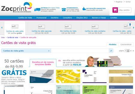 500735 cartao de visita gratis zocprint 1 Cartão de Visita Grátis Zoc Print