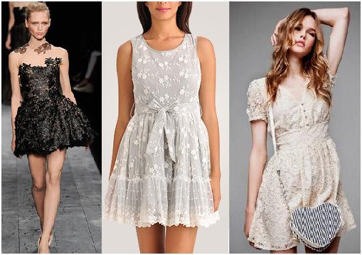 500968 A renda est%C3%A1 na moda pela sua versatilidade. Vestidos de festa com renda: modelos, fotos