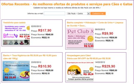 501465 dog urbano site de compras coletivas para caes e gatos 1 DogUrbano: site de compras coletivas para cães e gatos