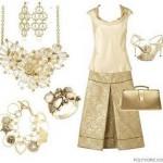 501491 Os acessórios são indispensáveis para compor o visual com roupas douradas Fotodivulgação. 150x150 Roupas douradas: como usar