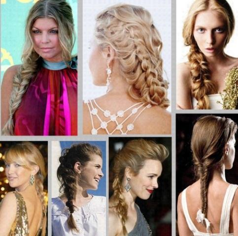 501583 As tranças são lindas e muito práticas. Penteados para madrinhas: cabelos longos