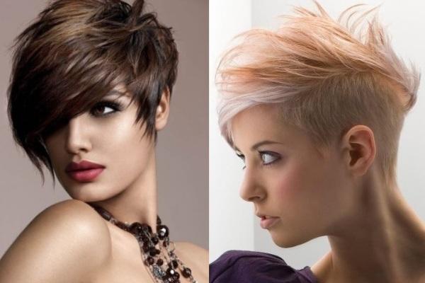 501610 Os penteados assimétricos são sofisticados e únicos. Penteados para madrinhas: cabelos curtos
