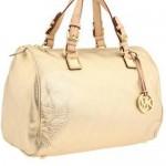 501617 bolsa michael kors grayson satchel dourada grande 150x150 Bolsas douradas   modelos, fotos