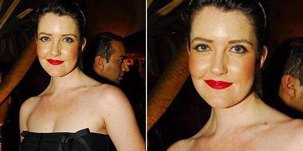 501712 Larissa Maciel errou na escolha do blush. Famosas, erros na maquiagem