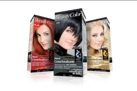 501987 A Beauty Color possui tinturas e tonalizantes para todos os tipos de cabelos Fotodivulgação. Simulador de cores para cabelo Beauty Color