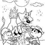 502096 Desenhos do folclore para colorir 12 150x150 Desenhos do folclore para colorir