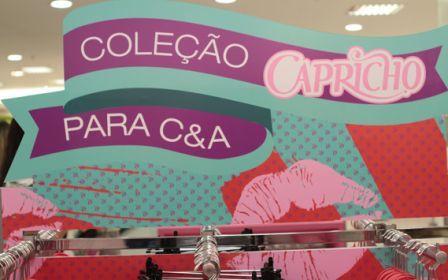 502409 CEA Capricho 1 Coleção de roupas C&A e Capricho