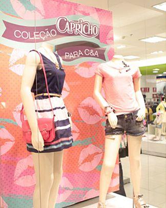 502409 CEA Capricho 2 Coleção de roupas C&A e Capricho