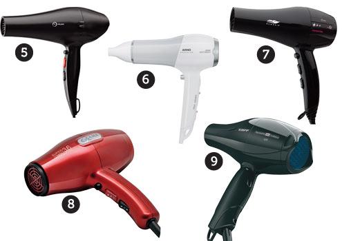 502455 Os secadores de cabelo devem ser manuseados corretamente para não prejudicar a saúde dos cabelos Fotodivulgação. Secador ideal para cada tipo de cabelo