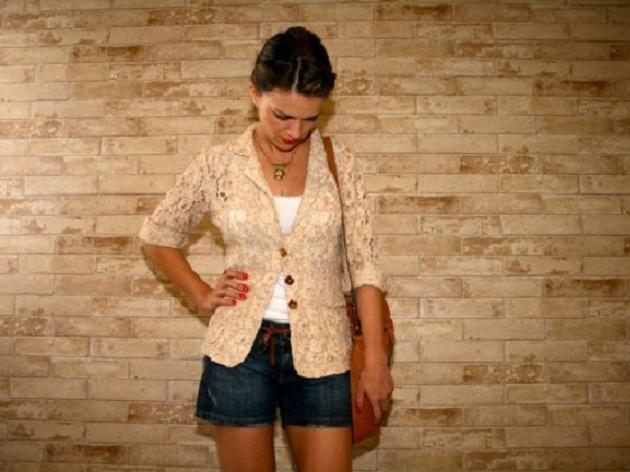 502718 blazer feminino com renda03 Blazer de renda: como usar, dicas