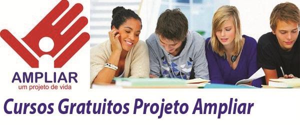 503165 Projeto Ampliarcursos gratuitos 2 semestre 2012 Projeto Ampliar: cursos gratuitos 2º semestre 2012