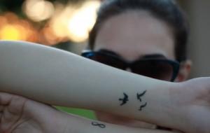 Tatuagens discretas para mulher: fotos