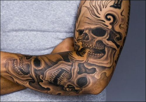 503727 tatuagens grandes masculinas fotos 1 Tatuagens grandes masculinas: fotos