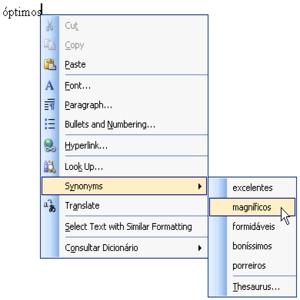 50454 sinonimos word Dicionário de Sinônimos Online