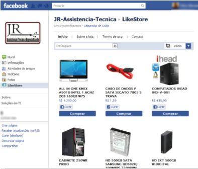 504560 A primeira coisa a ser feita é criar uma página no facebook contendo todas as informações da empresa Fotodivulgação. Social commerce: como vender pelo Facebook