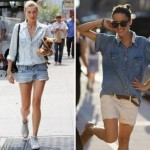 505580 Os shorts são excelentes para serem combinados com camisas jeans Fotodivulgação. 150x150 Camisa jeans feminina: como usar, dicas