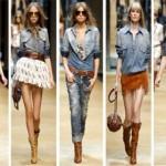 505580 Vários visuais podem ser criados com camisas jeans femininas Fotodivulgação. 150x150 Camisa jeans feminina: como usar, dicas