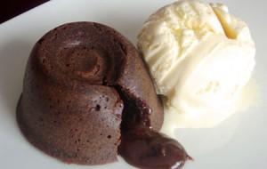 Receita de Petit gâteau de chocolate
