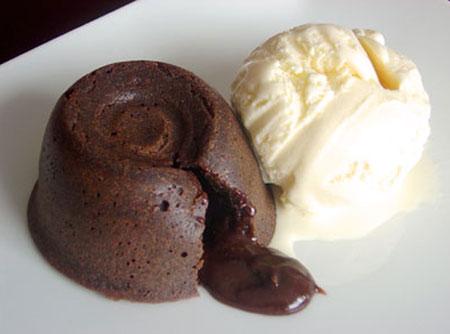505827 petit gateau chocolate Receita de Petit gâteau de chocolate