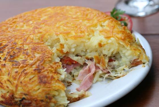 506088 Batata recheada com presunto e queijo 2 Batata recheada com presunto e queijo