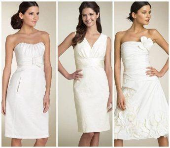 506159 Os vestidos de noiva brancos são os mais indicados para casamento civil Fotodivulgação. Vestido de noiva discreto para casamento civil: fotos