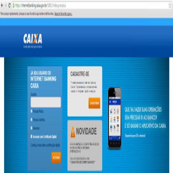 50657 internet banking caixa 600x600 Como Abrir Conta Poupança na Caixa