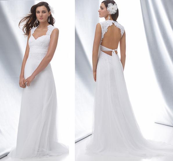 506699 Os tecidos mais leves são os mais indicados para noivas baixinhas Fotodivulgação. Vestido de noiva para baixinhas: como escolher