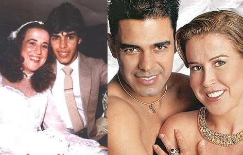 506711 O casal Zezé di Camargo e Zilu também mudaram o visual após a fama do cantor se espalhar em todo o Brasil Fotodivulgação. Celebridades antes da fama: fotos